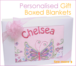 Personalised Baby and Kids Blankets