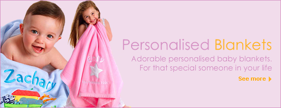Personalised baby blankets nappy cakes personalised toys and all our beautiful personalised baby blankets and gifts are customised with your childs details and are beautifully gift boxed and delivered australia wide negle Gallery
